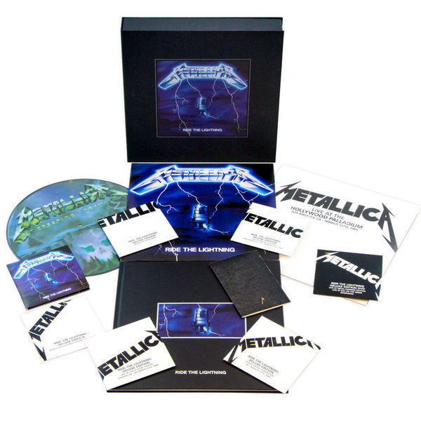 Metallica Metallica - Ride The Lightning (4 Lp+6 Cd+dvd) metallica metallica master of puppets 10 cd 3 lp 2 dvd