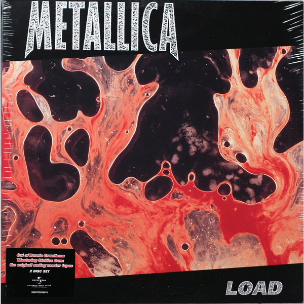 Metallica Metallica - Load (2 LP) metallica metallica master of puppets 10 cd 3 lp 2 dvd
