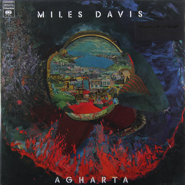 Miles Davis Miles Davis - Agharta (2 Lp, 180 Gr) цена и фото