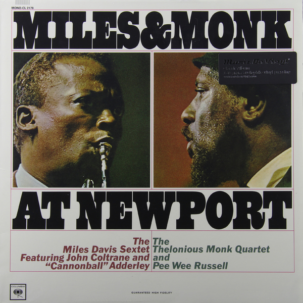 Miles Davis - And Monk At Newport (180 Gr)