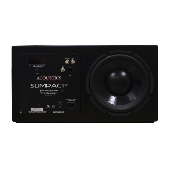 Активный сабвуфер MJ Acoustics Slimpact 10 Black Ash (уценённый товар) цена и фото