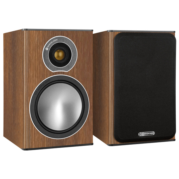 Полочная акустика Monitor Audio Bronze 1 Walnut цена