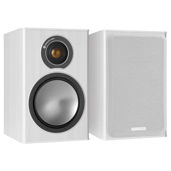 цена на Полочная акустика Monitor Audio Bronze 1 White Ash
