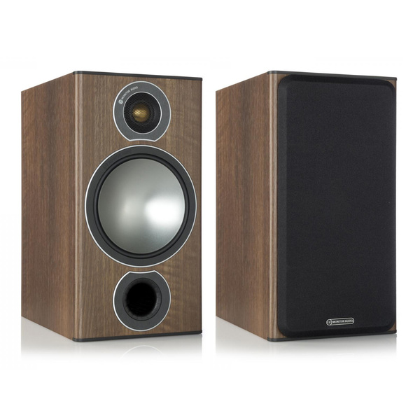 лучшая цена Полочная акустика Monitor Audio Bronze 2 Walnut