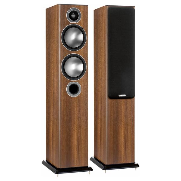 Напольная акустика Monitor Audio Bronze 5 Walnut цена и фото