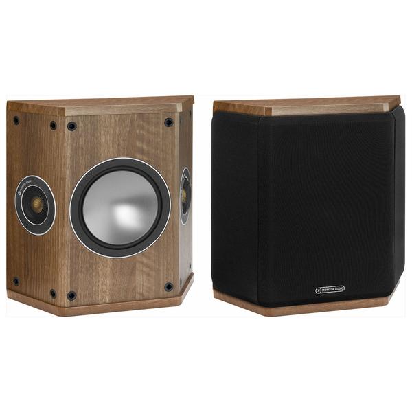 Специальная тыловая акустика Monitor Audio Bronze FX Walnut специальная тыловая акустика monitor audio gold fx 5g piano black