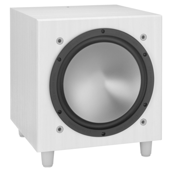 лучшая цена Активный сабвуфер Monitor Audio Bronze W10 White Ash