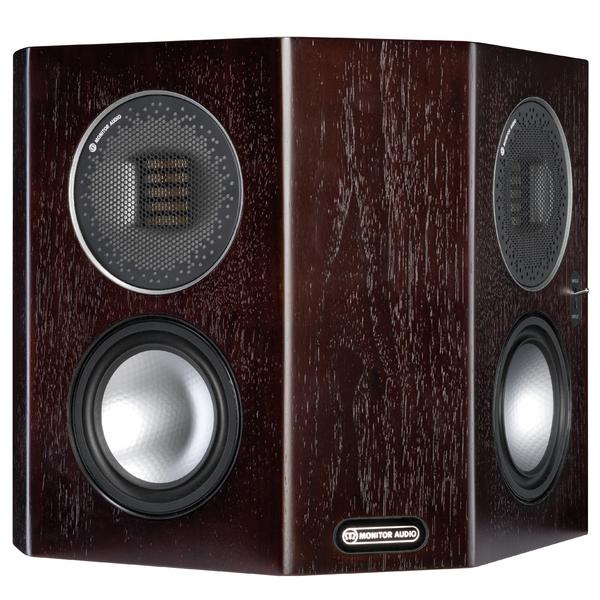 Специальная тыловая акустика Monitor Audio Gold FX 5G Dark Walnut специальная тыловая акустика monitor audio bronze fx rosemah
