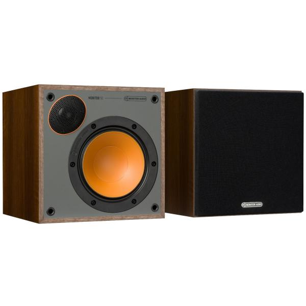 Фото - Полочная акустика Monitor Audio Monitor 50 Walnut твитер вч динамик kicx dtc 50