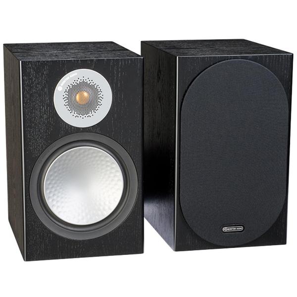 Полочная акустика Monitor Audio Silver 100 Black Oak цены