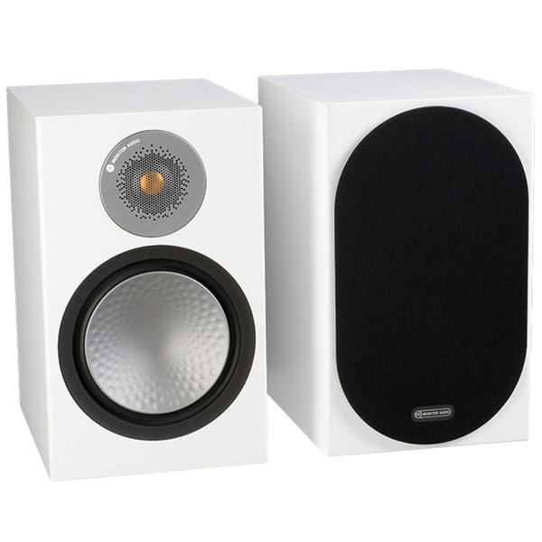Полочная акустика Monitor Audio Silver 100 White brand new universal one 100% recycled copy paper 92 brightness 20lb 8 1 2 x 11 white 5000 shts ctn