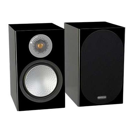 Полочная акустика Monitor Audio Silver 100 Black Gloss