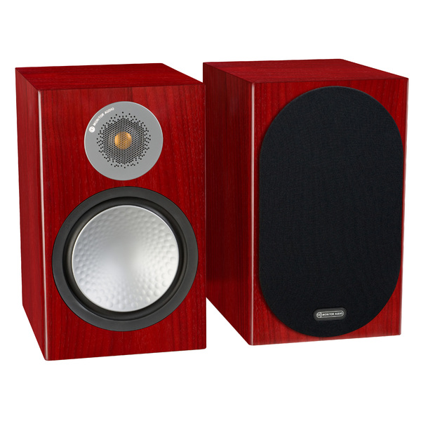 Фото - Полочная акустика Monitor Audio Silver 100 Rosenut полочная акустика monitor audio silver 50 rosenut