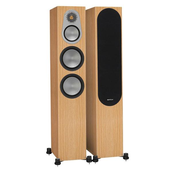 Напольная акустика Monitor Audio Silver 300 Natural Oak киевница напольная fortuna gloria silver для 6 киев