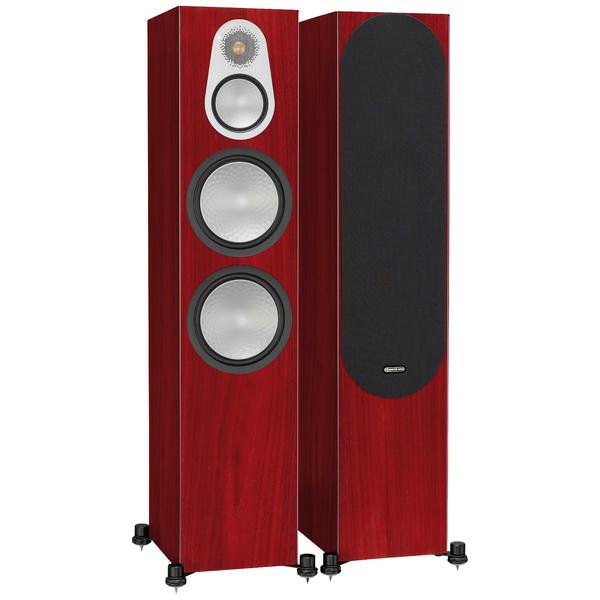 Фото - Напольная акустика Monitor Audio Silver 500 Rosenut полочная акустика monitor audio silver 50 rosenut