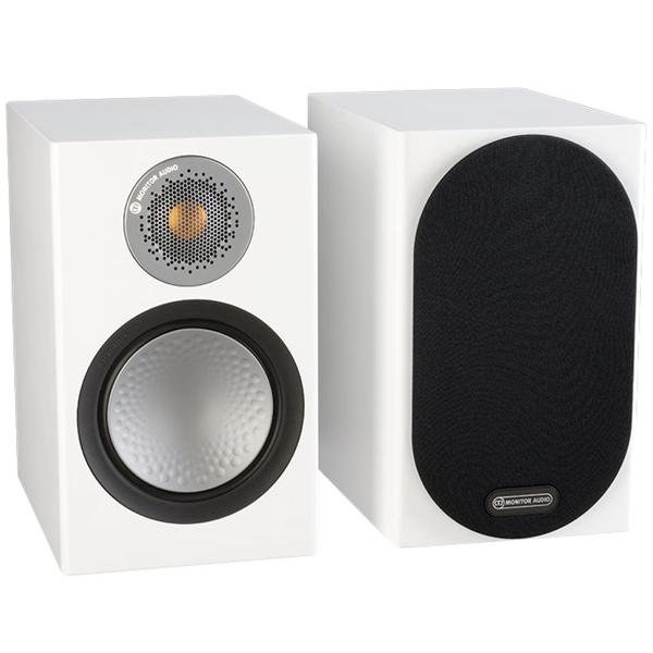 Фото - Полочная акустика Monitor Audio Silver 50 White твитер вч динамик kicx dtc 50