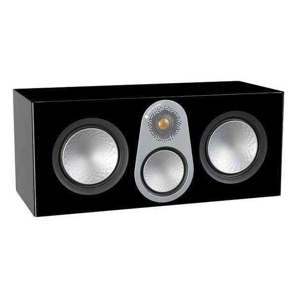 Центральный громкоговоритель Monitor Audio Silver C350 Black Gloss цена и фото