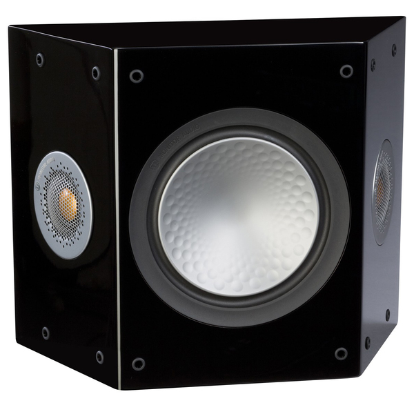 Специальная тыловая акустика Monitor Audio Silver FX 6G Black Gloss специальная тыловая акустика monitor audio bronze fx rosemah