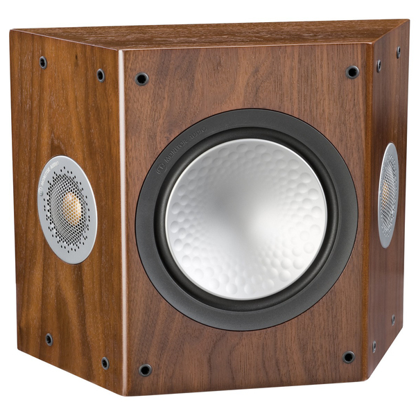 Специальная тыловая акустика Monitor Audio Silver FX 6G Walnut специальная тыловая акустика monitor audio gold fx 5g piano black