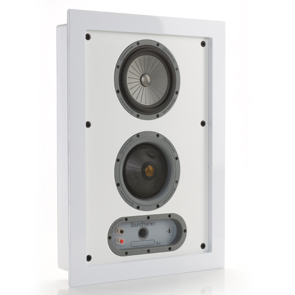 Настенная акустика Monitor Audio SoundFrame 1 OnWall White
