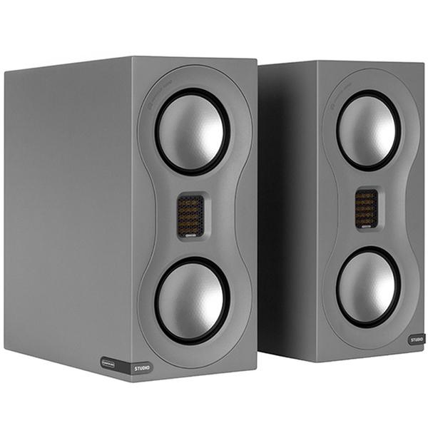 Полочная акустика Monitor Audio Studio Satin Grey полочная акустика monitor audio studio satin white