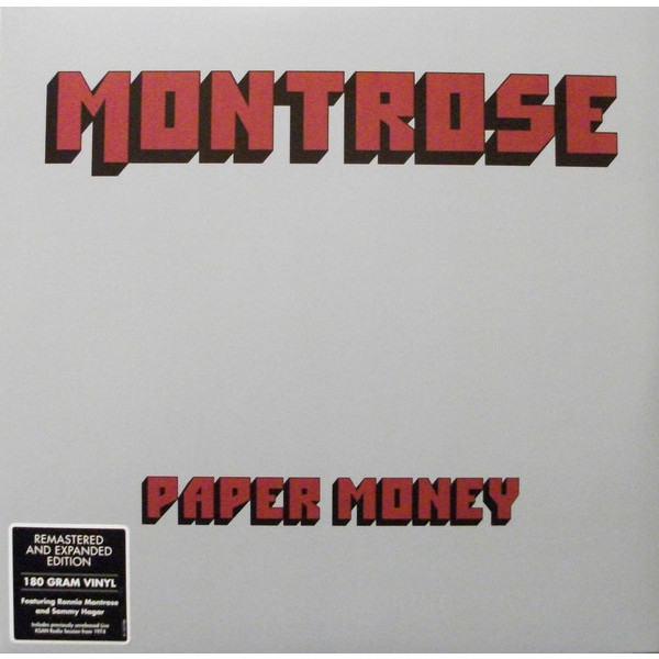 Montrose Montrose - Paper Money (2 Lp, 180 Gr) montrose montrose original album series 5 cd