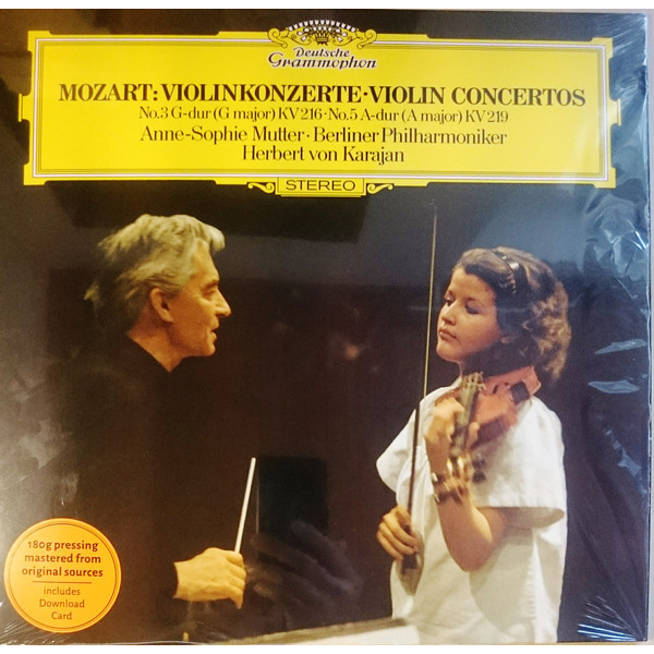 Mozart MozartHerbert Von Karajan - : Violin Concertos 3 5