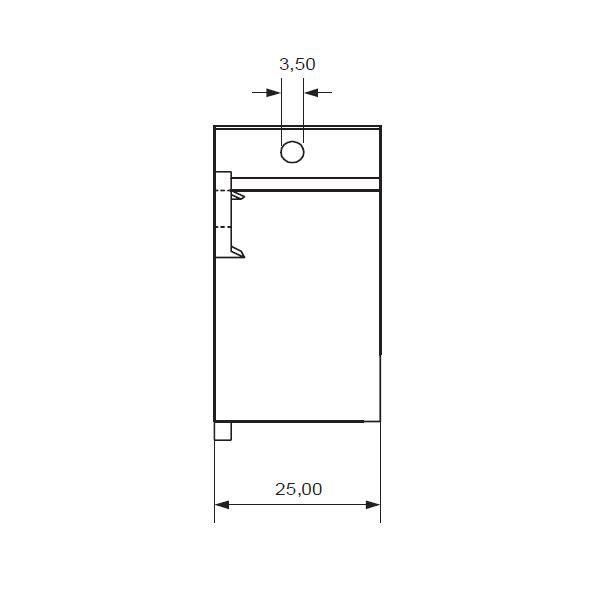 Крепеж для конденсаторов Mundorf MCNV 35 mm