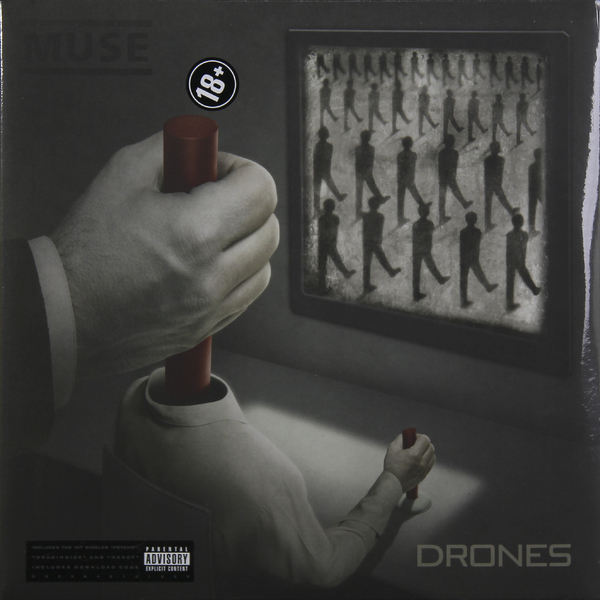 MUSE MUSE - Drones (2 LP) цена и фото
