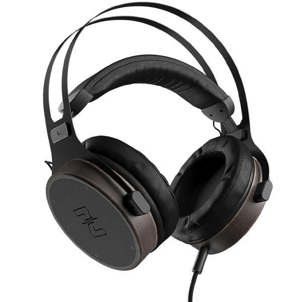Охватывающие наушники MusicDealer XL Black/Wood