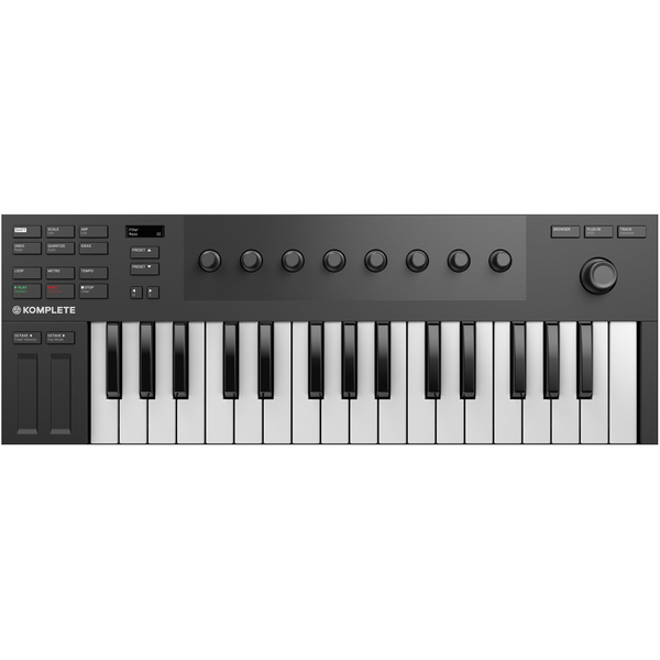 MIDI-клавиатура Native Instruments Komplete Kontrol M32 dj контроллер native instruments traktor kontrol s4 mk3