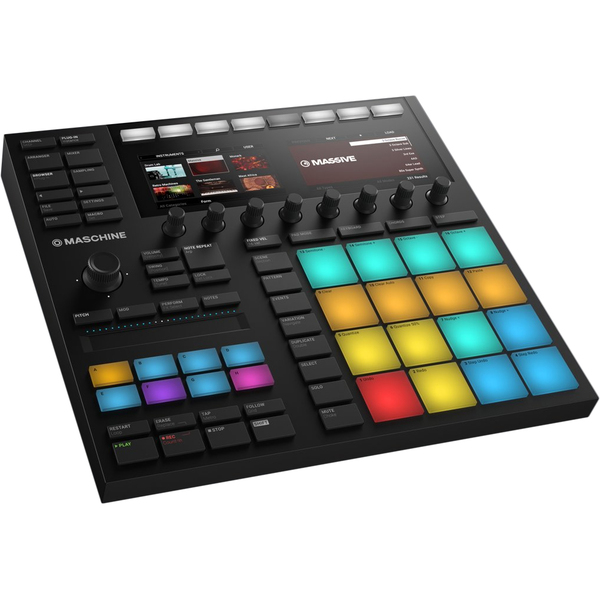 цены на MIDI-контроллер Native Instruments Maschine Mk3  в интернет-магазинах