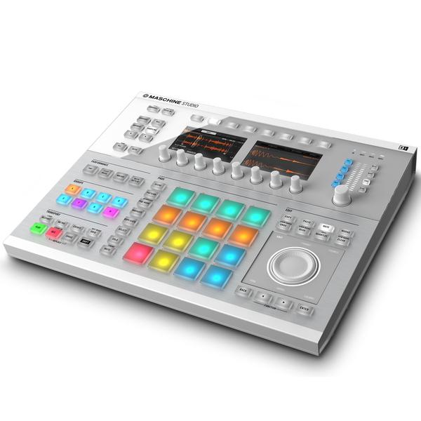 MIDI-контроллер Native Instruments Maschine Studio White midi контроллер native instruments komplete kontrol s49 mk2