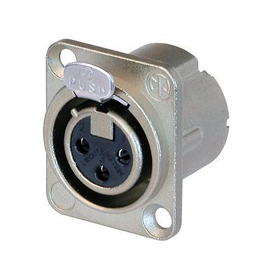 Терминал XLR Neutrik NC3FD-LX 20 штук партии suyep проволоки типа коннектора предизолированные вилку терминал барьер газа джампер разъем 12 позиций tb1512