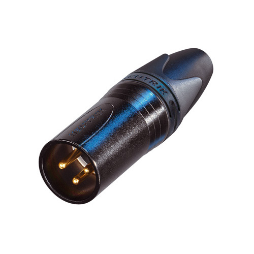 Разъем XLR Neutrik NC3MXX-B цена