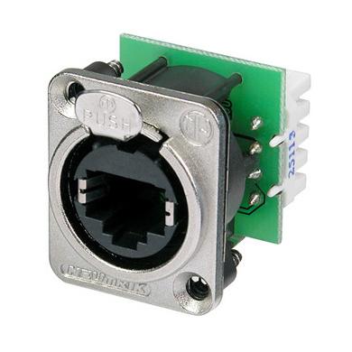 Терминал RJ45 Neutrik NE8FDV-YK yk series pressure switch controller yk 01h 2 76 2 07