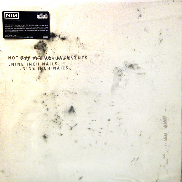 Nine Inch Nails Nine Inch Nails - Not The Actual Events футболка классическая printio nine inch nails
