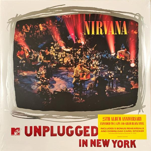 Nirvana Nirvana - Mtv Unplugged In New York (2 Lp, 180 Gr) цена и фото