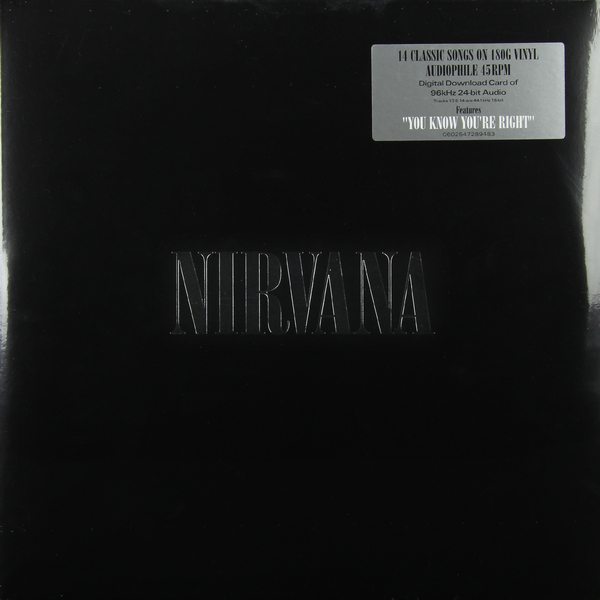 Nirvana Nirvana - Nirvana (2 Lp, 180 Gr) nirvana nirvana unplugged in new york 180 gr