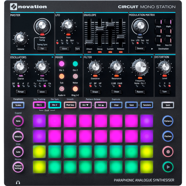 Синтезатор Novation Circuit MonoStation