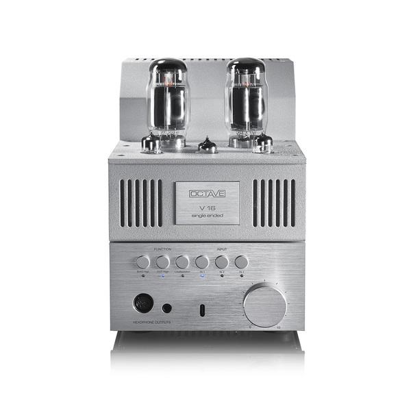 Ламповый стереоусилитель Octave V 16 Single Ended (Pre-Out) Silver