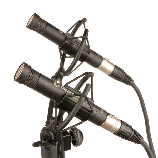 Студийный микрофон Октава МК-012-01 Matte Black (стереопара, в картонной коробке)