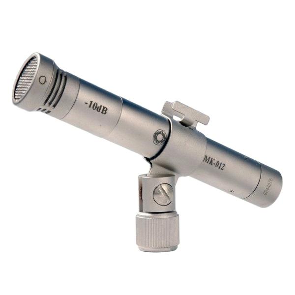 Студийный микрофон Октава МК-012 Matte Nickel (в деревянном футляре)