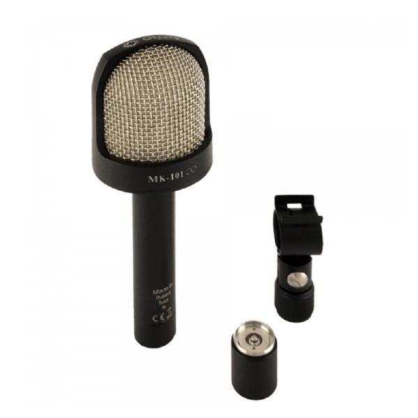 Студийный микрофон Октава МК-101 Matte Black (в картонной коробке)
