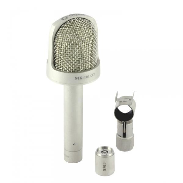 Студийный микрофон Октава МК-101 Matte Nickel (в картонной коробке)