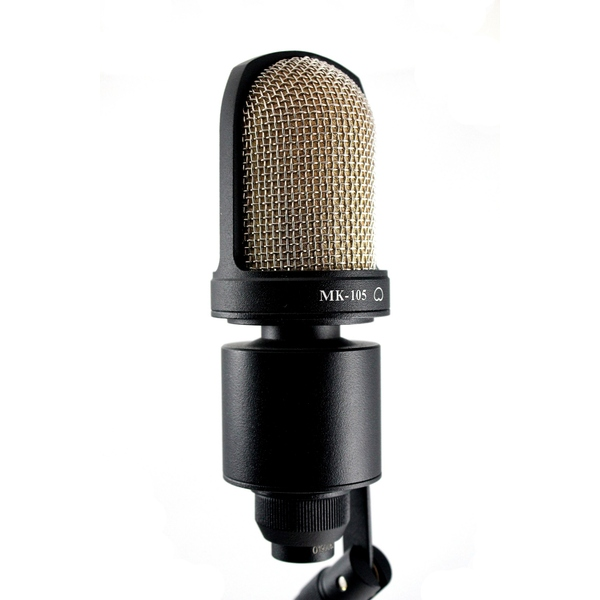 лучшая цена Студийный микрофон Октава МК-105 Matte Black (в деревянном футляре)
