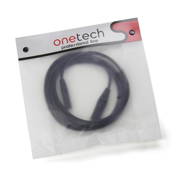 лучшая цена Кабель межблочный XLR-Jack Onetech PRO 3 m