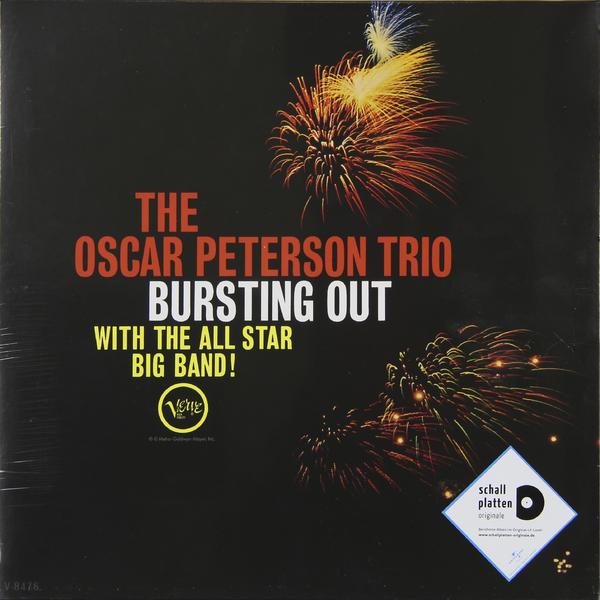 Oscar Peterson Oscar Peterson - Bursting Out With The All Star Big Band oscar peterson oscar peterson
