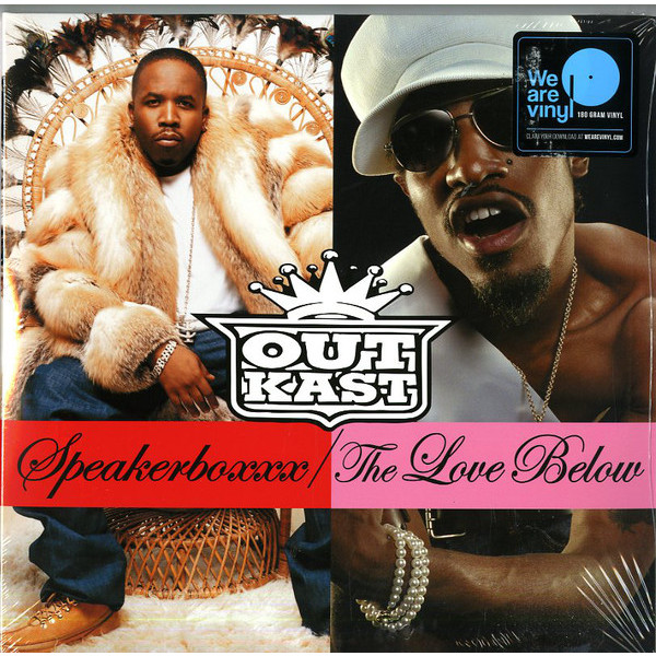 цены Outkast Outkast - Speakerbox / The Love Below (4 LP)
