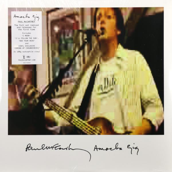 Paul Mccartney Paul Mccartney - Amoeba Gig (2 LP) paul mccartney – flowers in the dirt 2 lp
